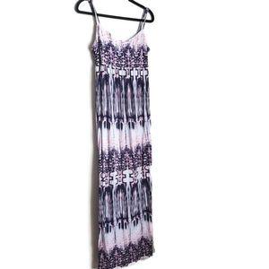 Tie-dye Maternity Dress